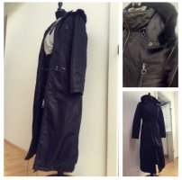 Stefanel Floor-Lenght Coat black