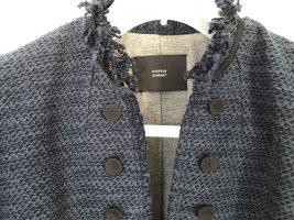 Steffen Schraut Short Blazer dark blue-black cotton