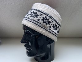 Steffner Cappello a maglia bianco