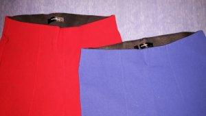 Hallhuber Pantalón con estribo rojo Licra