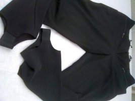 Heine Strapped Trousers black polyester