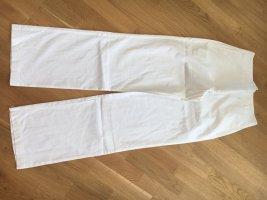 Steilmann Hose weit geschnitten weiß