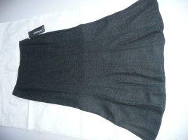 Steilmann Midi Rock Skirt klassisch elegant stretchig grau anthrazit Gr 36-38