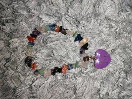 Bracelet lilac-pale blue