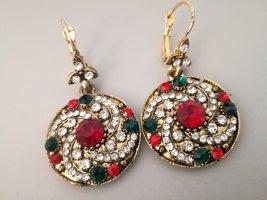 Steinchenbesetzte Ohrringe vintage