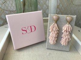 Stella & Dot Dangle gold-colored-pink