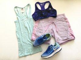 Adidas Stella Mccartney Spodnie sportowe bladofiołkowy