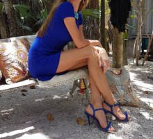 stella McCartney luxus Designer flared back meermaid Dress Kleid