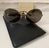 Stella McCartney Round Sunglasses gold-colored-dark brown