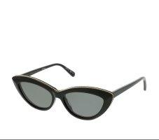 Stella McCartney Angular Shaped Sunglasses black