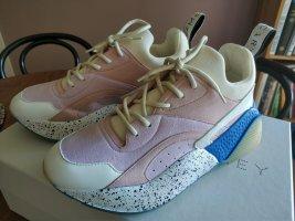 Stella McCartney Sneakersy wciągane różany-niebieski neonowy