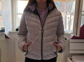 FB Sister Quilted Jacket white-light grey