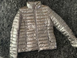Milestone Quilted Jacket silver-colored