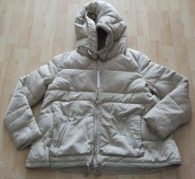 Guess Quilted Jacket grey brown-oatmeal