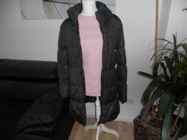 Only Quilted Coat dark grey polyester