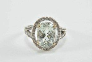 Vintage Srebrny pierścionek srebrny