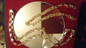 Sterlingsilber Set Collier 45 cm und Armband 21 cm lang
