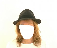 MAYSER Trilby anthracite wool