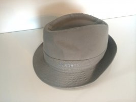 STETSON Trilby silver-colored cotton