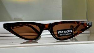 "* STEVE MADDEN "" NEU ! Retro Sonnenbrille  Cateye Kunst stoff beaum Schildplatt"
