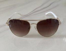 Steve Madden Aviator Glasses white-gold-colored