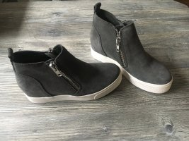 Steve Madden Wedges Sneaker - grau - Größe 36 (US 4,5) - NEU