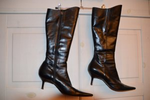 Vero Cuoio Gothic Boots black leather