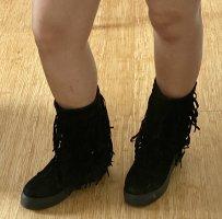 keine Ahnung Winter Boots black