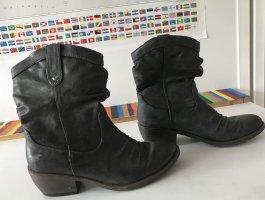Mustang Western Boots dark brown
