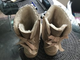 Short Boots camel