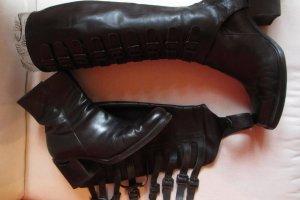 Stephane kélian Botas de equitación negro Cuero