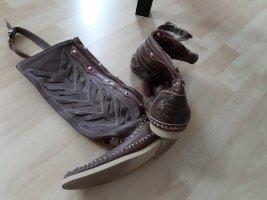 Hector Riccione Botas estilo vaquero marrón