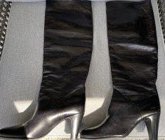 Enrico Antinori Jackboots black leather