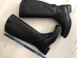 Bottes à lacets noir