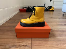 Lace-up Boots yellow