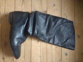 Stiefel aus Leder von Zara