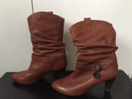 Stiefel BeLLE classical series 245 38 cognac braun, selten getragen