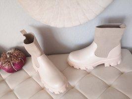 Stiefel Boots beige blogger hipster boho