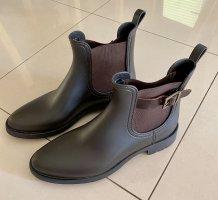 Marc O'Polo Gumowe buty brązowy