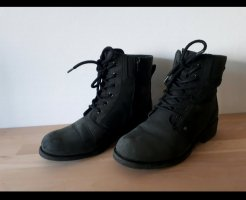 Clarks Bottes à lacets noir