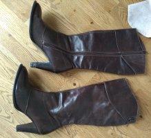 Tommy Hilfiger Jackboots dark brown-brown red
