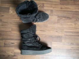 Bronx Cothurne noir cuir