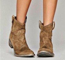 Wciągane buty za kostkę Wielokolorowy Tkanina z mieszanych włókien