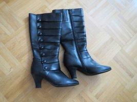 Stiefel, Gr.37, neu, schwarz
