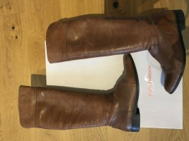 Ralph Harrison Riding Boots brown-cognac-coloured leather