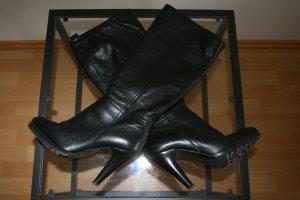 Stiefel schwarz Gr. 40