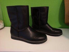 Graceland Halfhoge laarzen zwart Imitatie leer