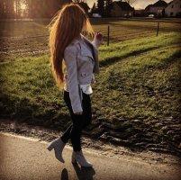 Stiefel Stiefeletten hohe Schuhe Ivyrevel silber hellgrau schick