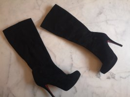 Buffalo High Heel Boots black leather