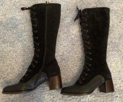Chie Mihara Aanrijg laarzen zwart